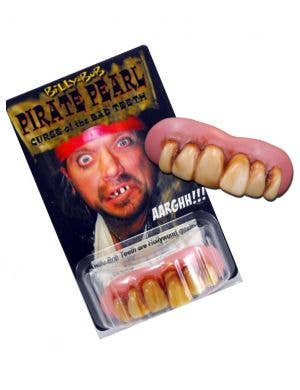 Pirate Pearl Novelty Custom Fit Teeth Costume Accessory