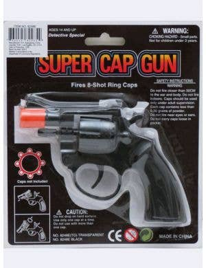 Novelty Detective Toy Cap Gun Costume Accessory