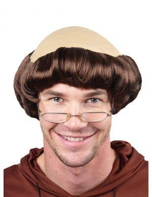 Monk Men's Friar Tuck Costume Wig