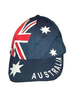 Navy Blue Australian Flag Australia Day Baseball Cap