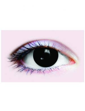 Black Out Possessed Evil Halloween Costume Contact Lenses