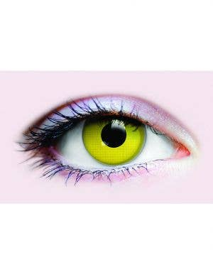 Raven Eyes Yellow 90 Day Coloured Contact Lenses