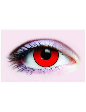 Blood Eyes Red 90 Day Wear Horror Contact Lenses