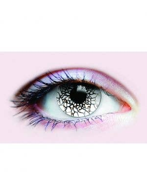 Beserker Black and White 90 Day Wear Contact Lenses