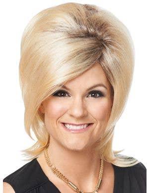 Sassy Psychic Women's Blonde Beehive Costume Wig