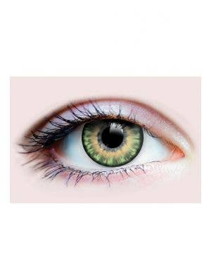 Sunrise Jade Green Fashion 90 Day Wear Coloured Contact Lenses