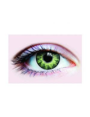 Light Green Gorgeous Sunrise Primal Contact Lenses Main Image