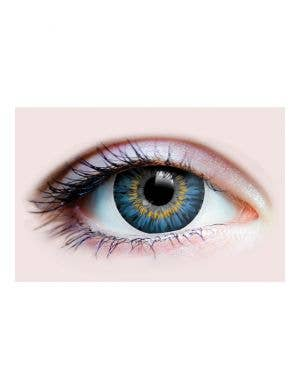Enchanting Sapphire Blue Contact Lenses by Primal