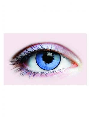 Big Blue Haunted Doll Coloured Contact Lenses by Funky Vision