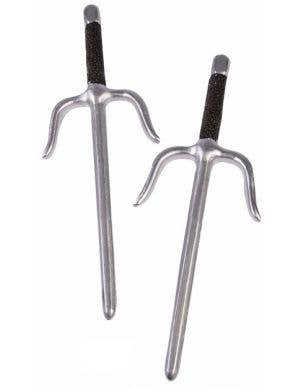 Ninja Daggers Costume Accessory Weapon Set