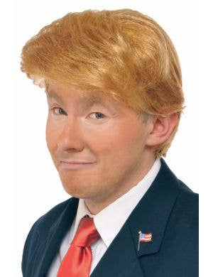 Men's Funny Donald Trump Costume Wig Accessory