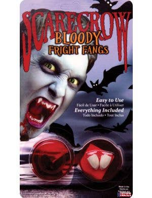 Bloody Custom Fit Vampire Fangs