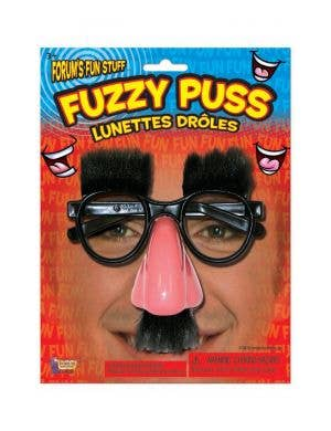 Grouch Novelty Nose and Glasses Costume Accessory