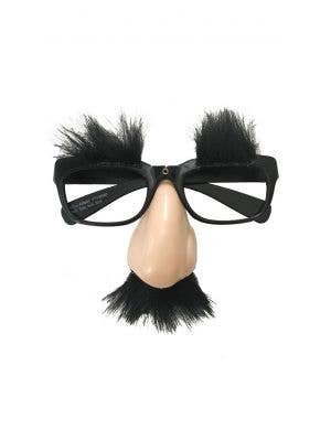 Classic Novelty Disguise Nose and Glasses Costume Accessory