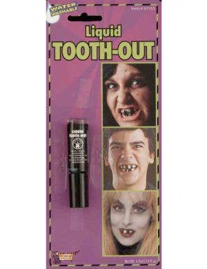 Liquid Black Tooth-Out Special FX Makeup