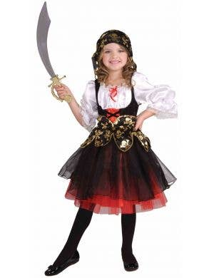 Lil Pirate's Treasure Girls Book Week Costume