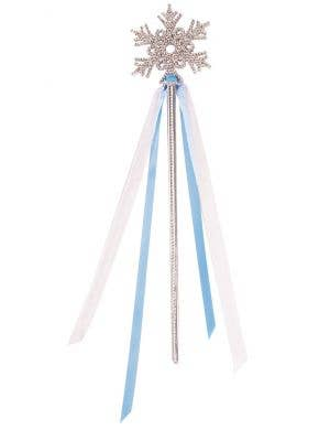 Snowflake Princess Wand Costume Accessory
