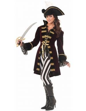 Captain Morgana Womens Deluxe Pirate Costume