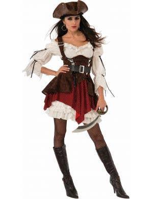 Pirate Penny Womens Sexy Fancy Dress Costume
