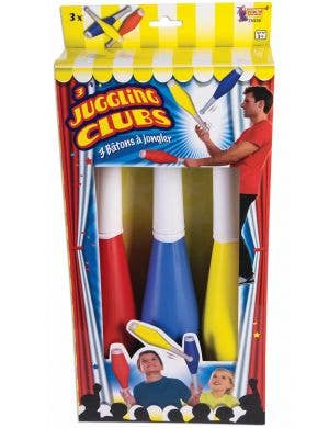 Novelty Clown Juggling Clubs