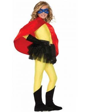 Superhero Kid's Red Cape Costume Accessory