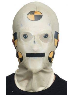 Crash Test Dummy Faux Real Mask