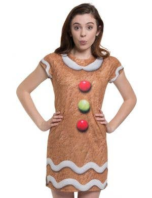 Faux Real Women's Gingerbread Dress