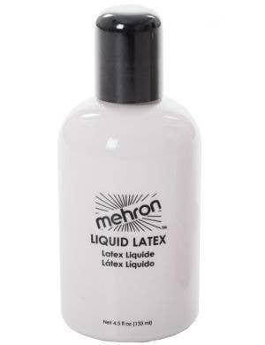 Professional Quality Natural Liquid Latex Bottle Medium Size