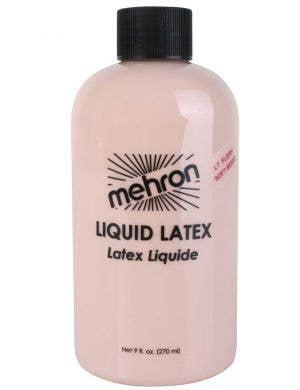 Large 270ml bottle of soft beige light flesh liquid latex