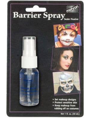 Mehron Barriery Spray Clear Setting Spray for Costume Makeup 1