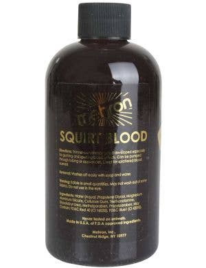 Large 266ml Bottle of Dark Red Squirt Blood Special FX