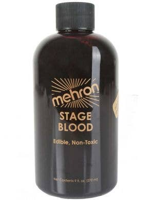 270ml Of Dark Red Mehron Syrup Based Halloween Stage Blood