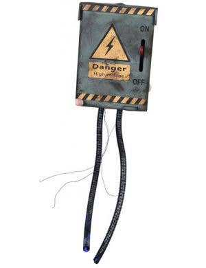 Animated High Voltage Electric Switch Halloween Decoration