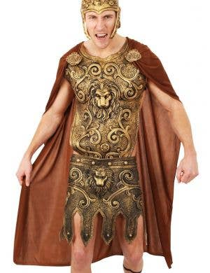 Roman Warrior Brown Costume Cape