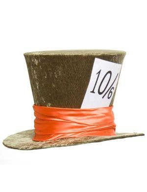 Deluxe Mad Hatter Costume Hat in Green