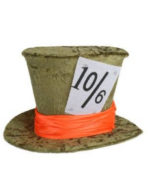 Deluxe Mad Hatter Green Mini Top Hat
