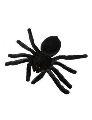 Black Velvet Large Spider Spooky Party Accessory