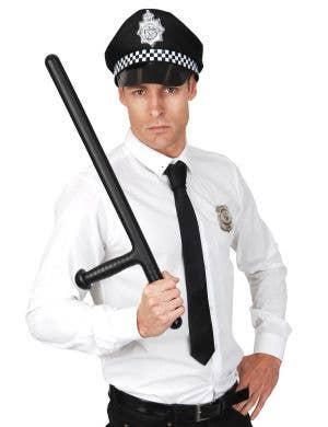 Police Officer Black Baton Costume Accessory