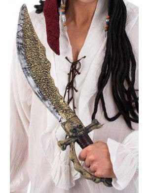 Skull Dread Pirate Cutlass Sword