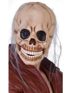 Full Face Latex Skull Halloween Mask