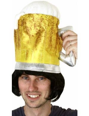 Novelty Adult's Oktoberfest Beer Pint Costume Accessory Hat