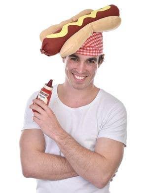 Novelty Hot Dog Costume Hat