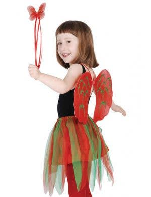 Kids Christmas Angel Costume Accessory Set