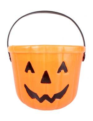 Pumpkin Jack O Lantern Candy Bucket