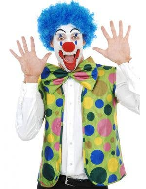 Colourful Clown Dress Up Costume Set