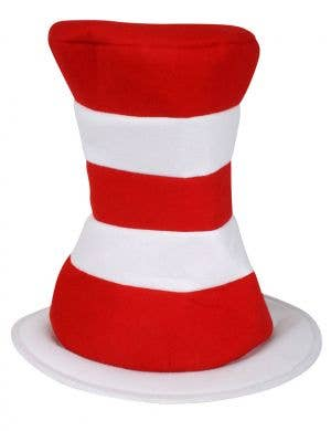 Cat in the Hat Red and White Striped Adult's Costume Hat