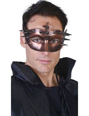 Ulric Men's Bronze Spiked Costume Mask