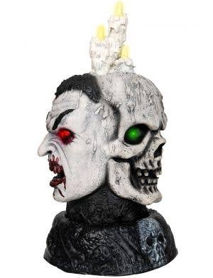 Animated Dracula and Skull Candelabra Party Decoration