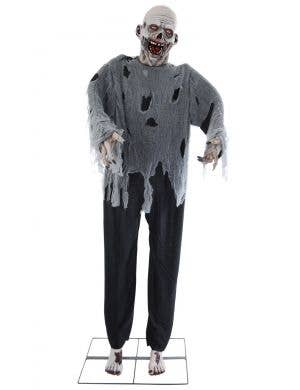 Animated Zombie Man Haunted House Halloween Decoration
