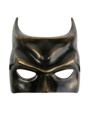 Batman Masquerade Mask In Black And Gold